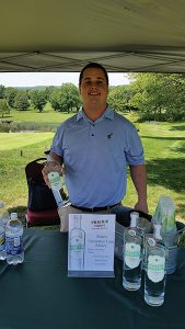 Jimmy Swanson, Beverage Manager, Wampanoag Country Club in West Hartford.