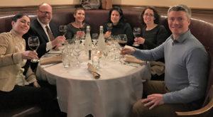 Margherita Pallecchi, Poliziano; Paul Burne, Slocum & Sons; Liz Ruskay; Robin Burne; Kate Cassidy, Dalla Terra Wines; Niall Houton, Slocum & Sons.