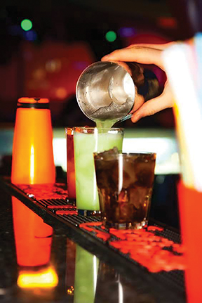 DRINK SALES SLOWING IN RESTAURANTS AND BARS