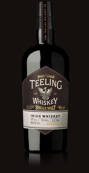 Teeling Irish Whiskey Expands With Single Malt Expression