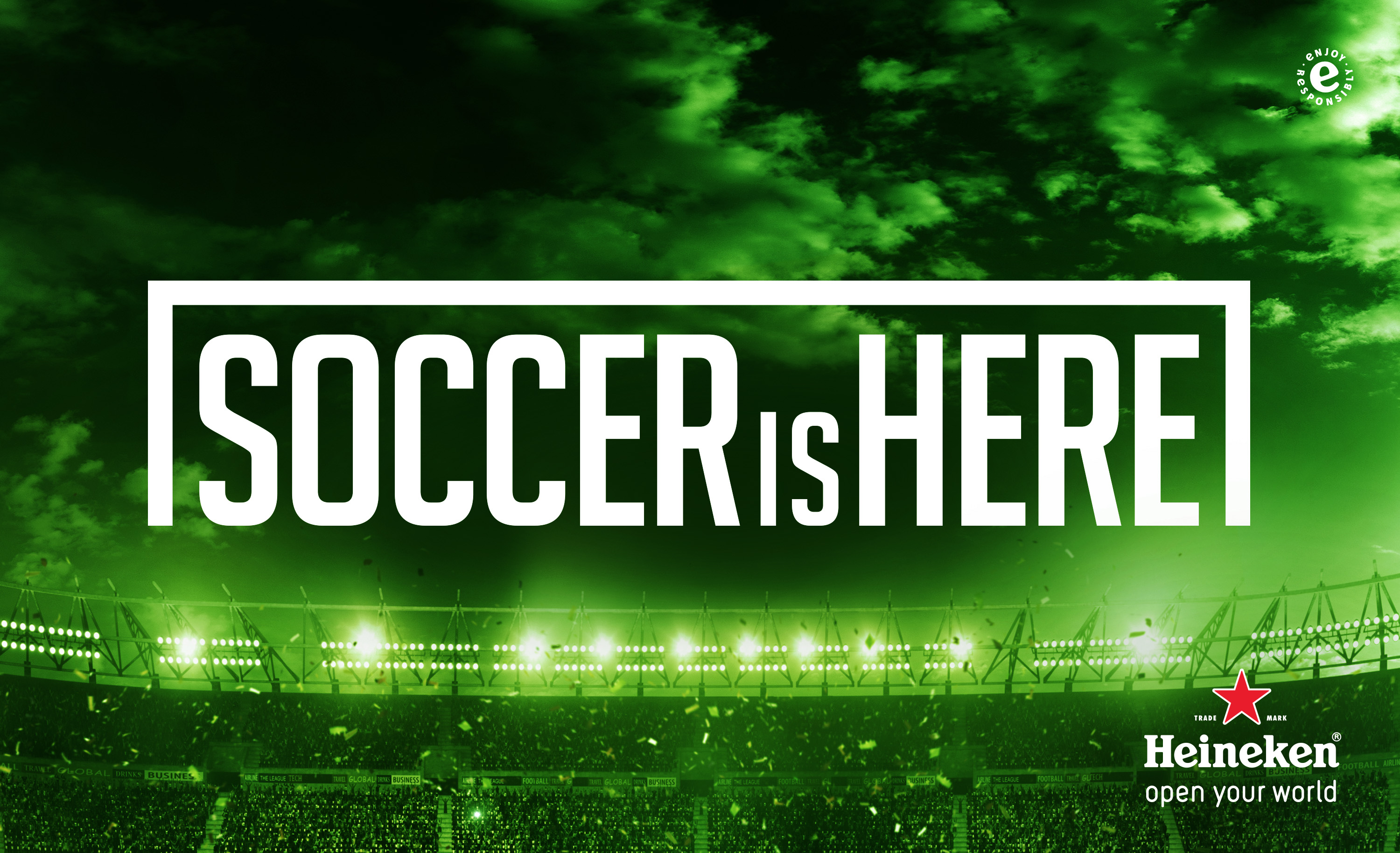 "Heineken Launches ""Soccer is Here"" Campaign"