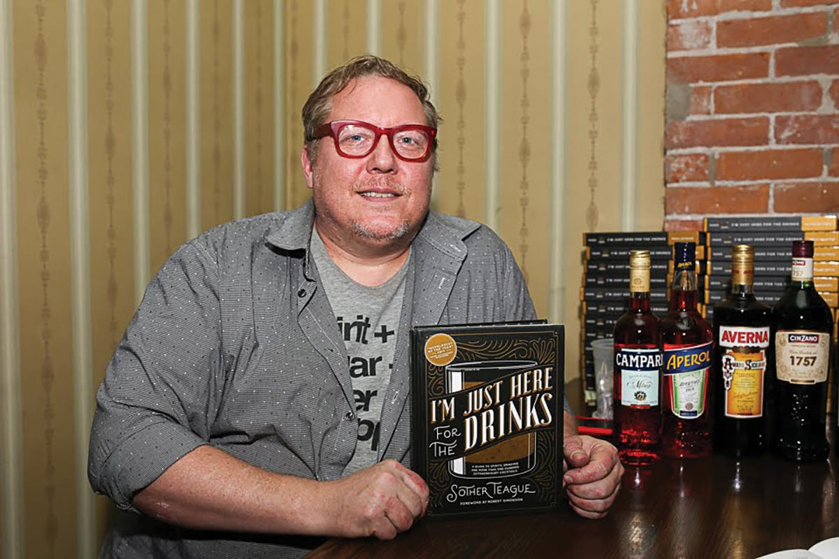 Author and Bartender Teague Visits Hartford for Book Signing