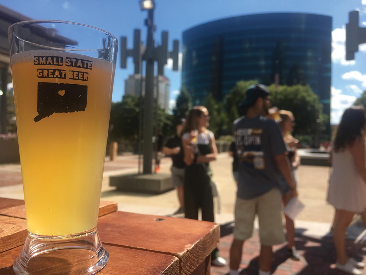 Small State Great Beer Festival Benefits Downtown Hartford