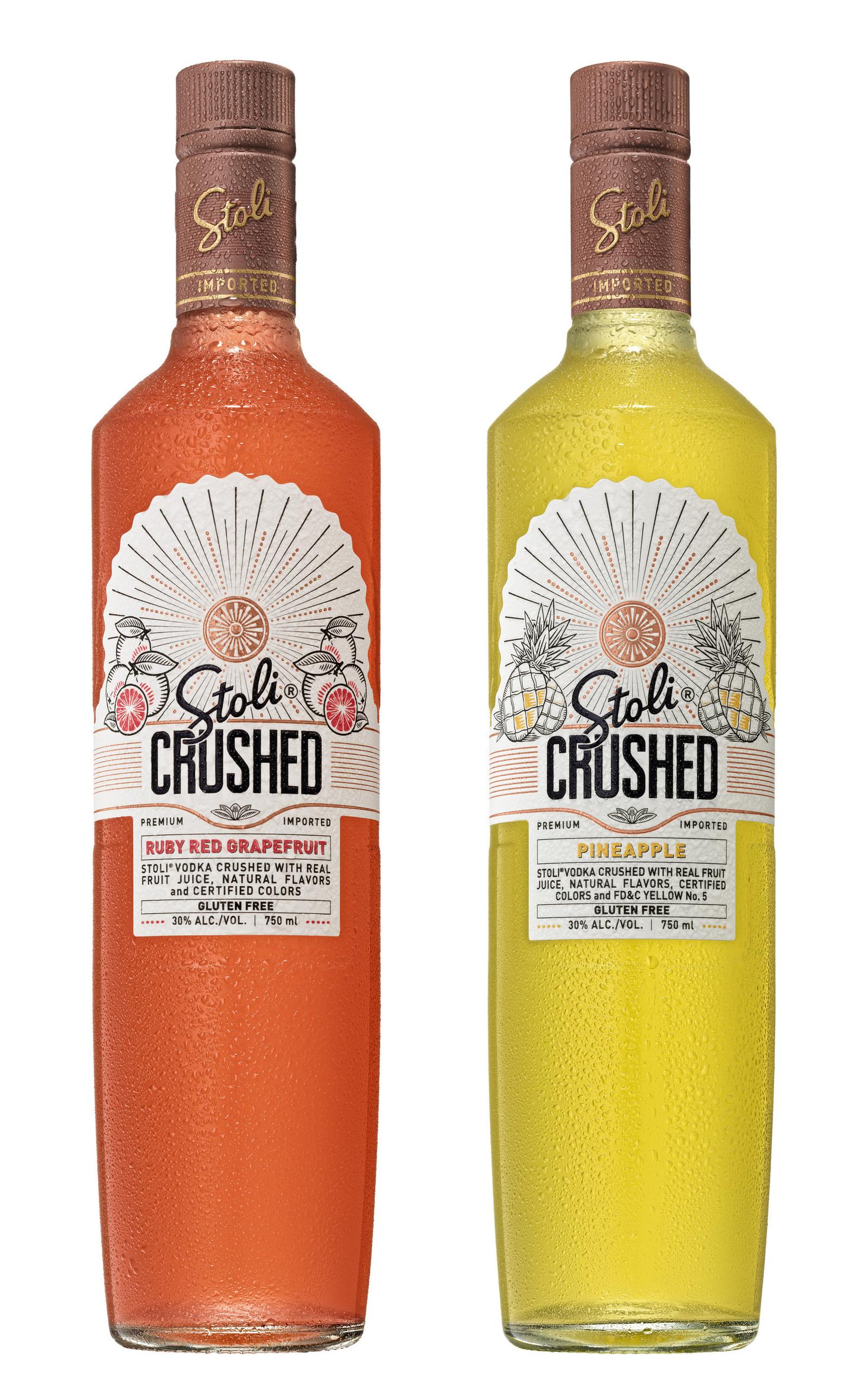 Stoli Enters Fruit Juice Spirit Market With Stoli Crushed