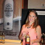 Lauren O'Reilly, Brescome Barton with Centenario Tequila.
