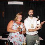 Brescome Barton's Cara Passarelli and David Rudman with Casamigos Tequila.