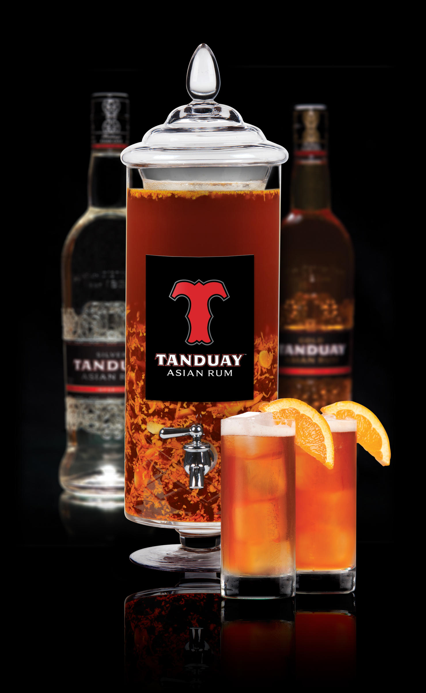 Tanduay Blends Seasonal Ingredients in On-Premise Program