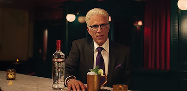 Smirnoff Partners with Actor Danson for Marketing Campaign