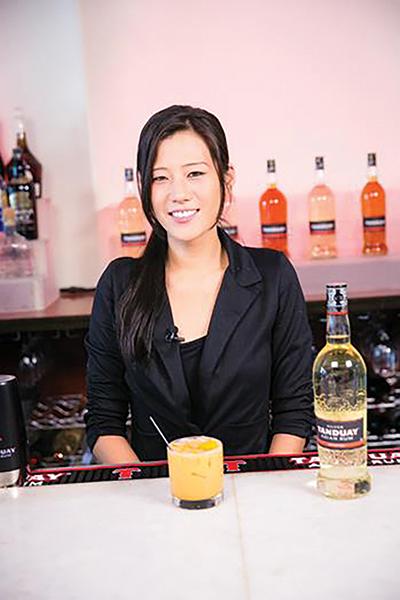 Connecticut Bartender Part of Tanduay Asian Rum Mixology Program