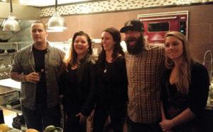 Corey Hayes, Fluke Wine Bar; Adrienne Nicole, Vanderbilt Grace; Megan Freitas, Statesman Tavern; Jonathan Edgell, White Horse Tavern; Caitlin Murphy, Statesman Tavern.