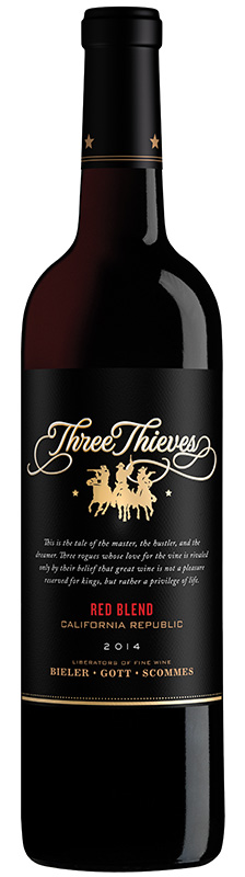 Three Thieves Wine Releases Red Blend