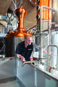 Washington's Woodinville, currently selling out all they make within the state. Being able to serve not only samples but also cocktails, has proven critical for many craft distillers.
