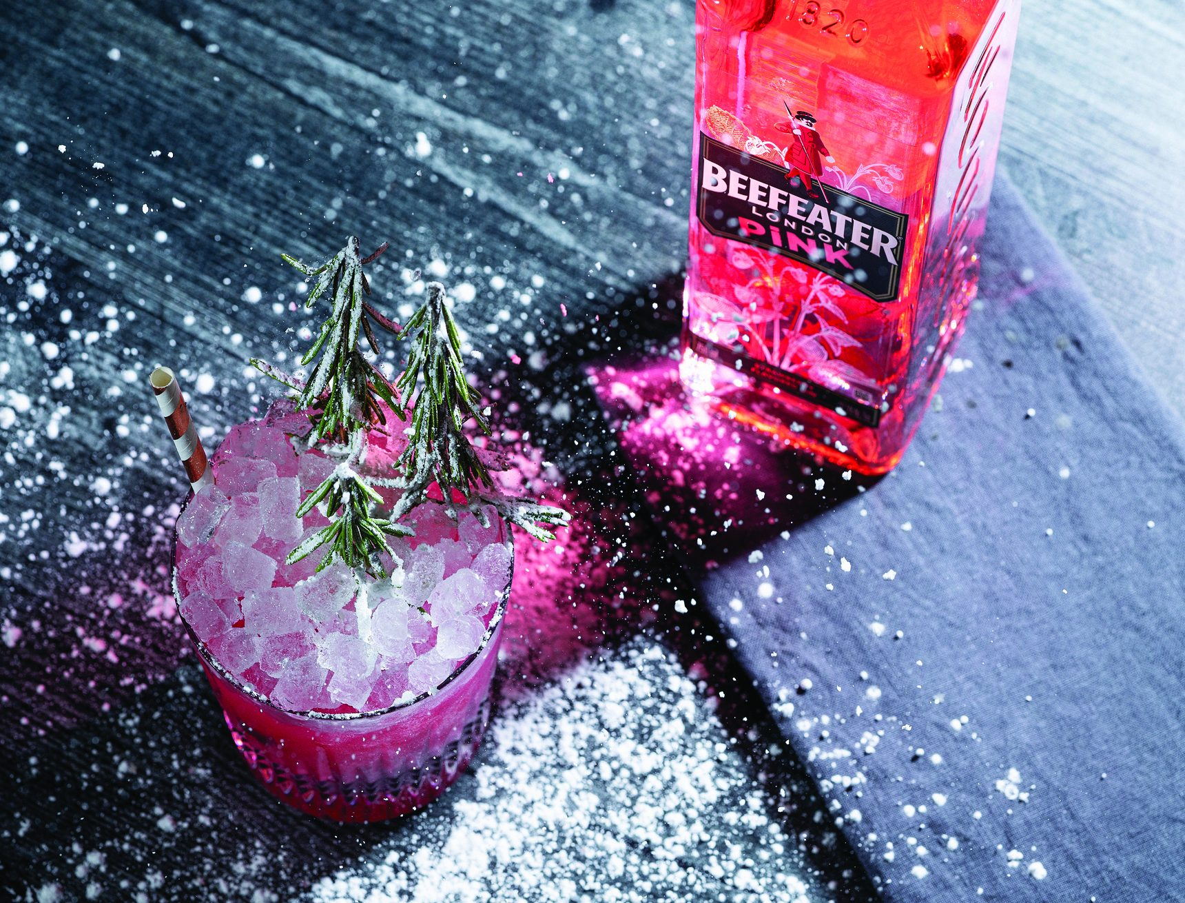 Gin Takes a Cue from Pink Hues
