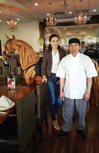 Tong-D Thai & More's Owner Angie Lim and Nick Aree, Chef and Business Partner.
