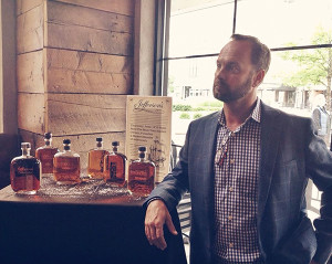 Trey Zoeller, master blender and president of Jefferson's Bourbon.