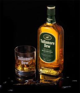 tullamore bottle-glass