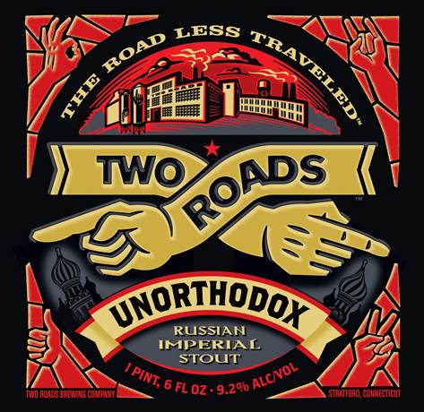 "Two Roads Releases ""Unorthodox"" Russian Imperial Stout"