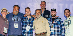 All from Two Roads Brewing Company except where noted: Emily Sauter; Clement Pellani; Travis Eckart; Charlie Papazian, Founder, Brewers Association; Carl Lang; Alex Robinson; Collin Kennedy.