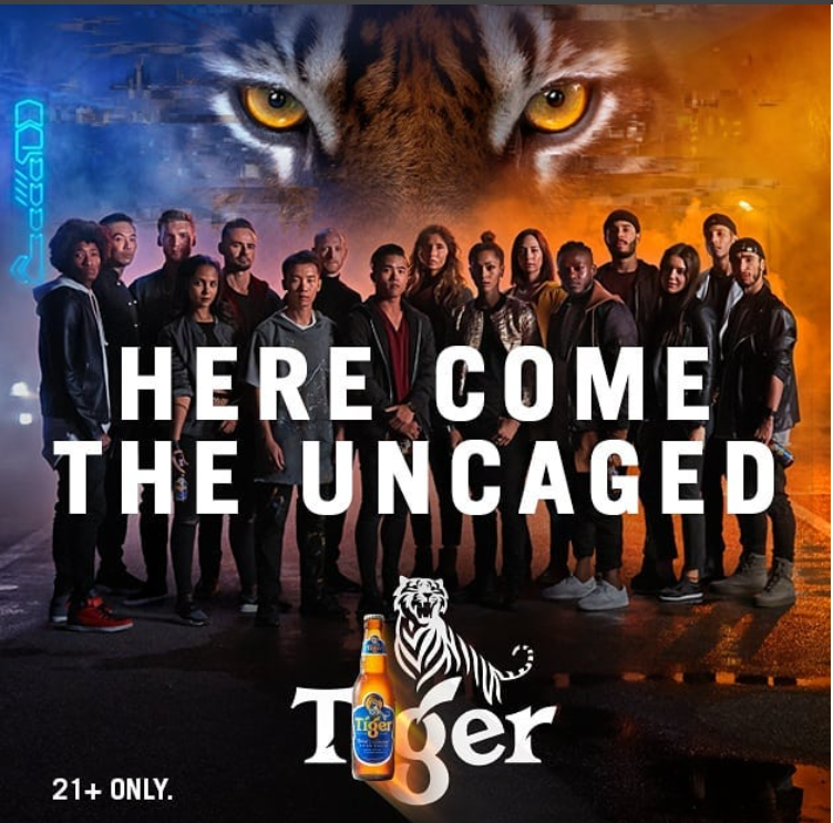 Tiger Beer Campaign Looks to Uncage Greater Good