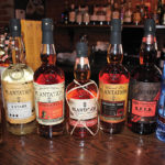 Pierre Ferrand Cognac, Plantation Rum and Citadelle Gin.