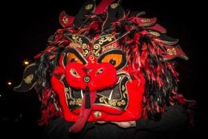 Chinese dragon dance.