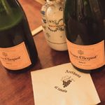 The Veuve Clicquot dinner was held at Arethusa al tavolo in Bantam, also on May 4. Photo Courtesy Blaise Pope.