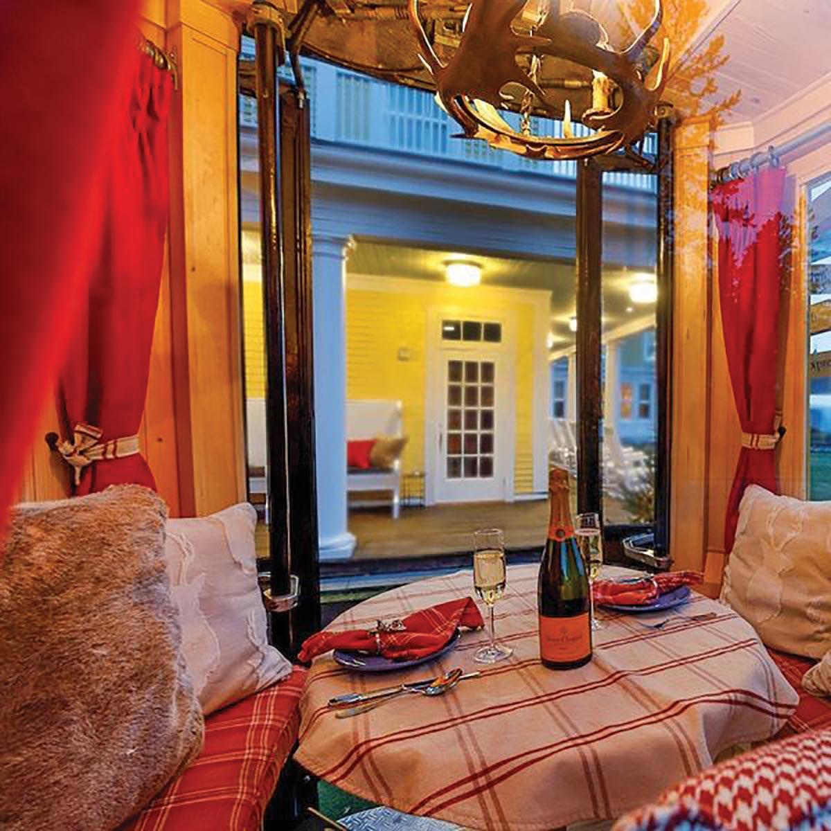 Veuve Clicquot Fondue Village Begins Annual Run