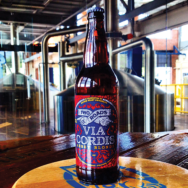 TWO ROADS AND SACRED HEART UNIVERSITY TEAM UP FOR NEW BREW