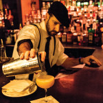 Vito Lantz of The Dorrance pours a period cocktail. Photos by Chris Almeida.