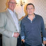 Frank Haas, Sales Manager, Winebow and Petrit Marku, Owner, Buon Appetito Ristorante & Pizzeria.