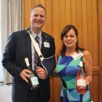 From Connecticut Distributors, Inc. (CDI): Bill Steindl, Director of Business Logistics and Rose McLean, Certified Wine Account Development Specialist.