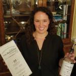 Alex Frechette, Vine Ventures, pouring Balvenie for William Grant and Sons.