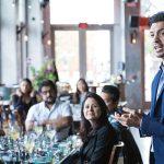 Presenter Bruno Carvalho, Single Malts Brand Ambassador, MKTG at Washington Prime in Norwalk on May 10.
