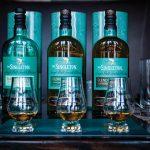 The Singleton 12-, 15-, and 18-Year-Old Single Malt Scotch Whiskies.