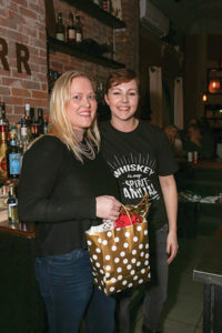 First place winner Rachel Markoja of Ideal Tavern with Alexa Doyer, Mixologist, Little River Restoratives.