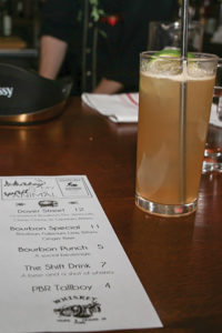 """Little River Restoratives hosted the """"Women & Whiskey"""" cocktail competition featuring Litchfield Distillery products, whose Batchers' spirits line includes Bourbon Whiskey, Double Barreled Bourbon Whiskey, Bourbon Whiskey Port Cask Finish, Vodka and Gin."""