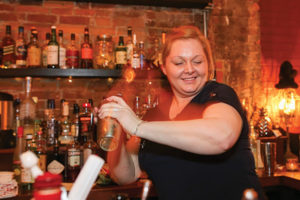 Ashley Lurie of Ch'i Public House during the competition. Lurie won second place.