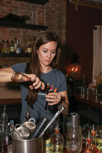Jessica Rapuano of Elm City Social during the competition.