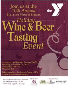 Newport County YMCA Holiday Wine & Beer Tasting @ Newport Vineyards   Middletown   Rhode Island   United States