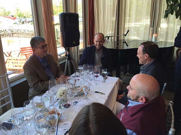 Rombauer Vineyards Winemaker Visits Greenwich for Trade Luncheon