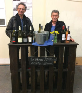 Vincent Caillé, Owner and Winemaker, Domaine du Fay d'Homme; Jean Barbier, Owner and Winemaker, Domaine Grand Corbiere.