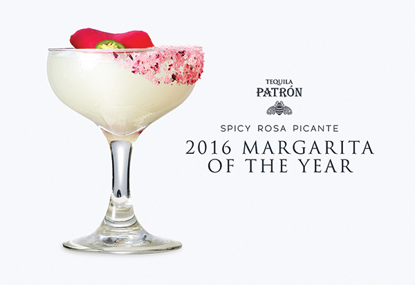 Patrón Announces 2016 Margarita of the Year