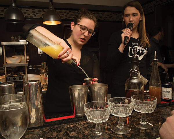 Sawtelle Wins Second Annual Thomas Tew Cocktail Contest
