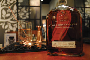 Bartenders created two original recipes featuring Woodford Reserve during the regional competition on March 6.