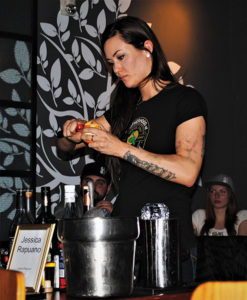 Competition winner Jessica Rapuano, Bartender, Elm City Social.