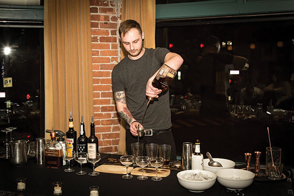 Rhode Island Bartender Wins Regional Woodford Competition