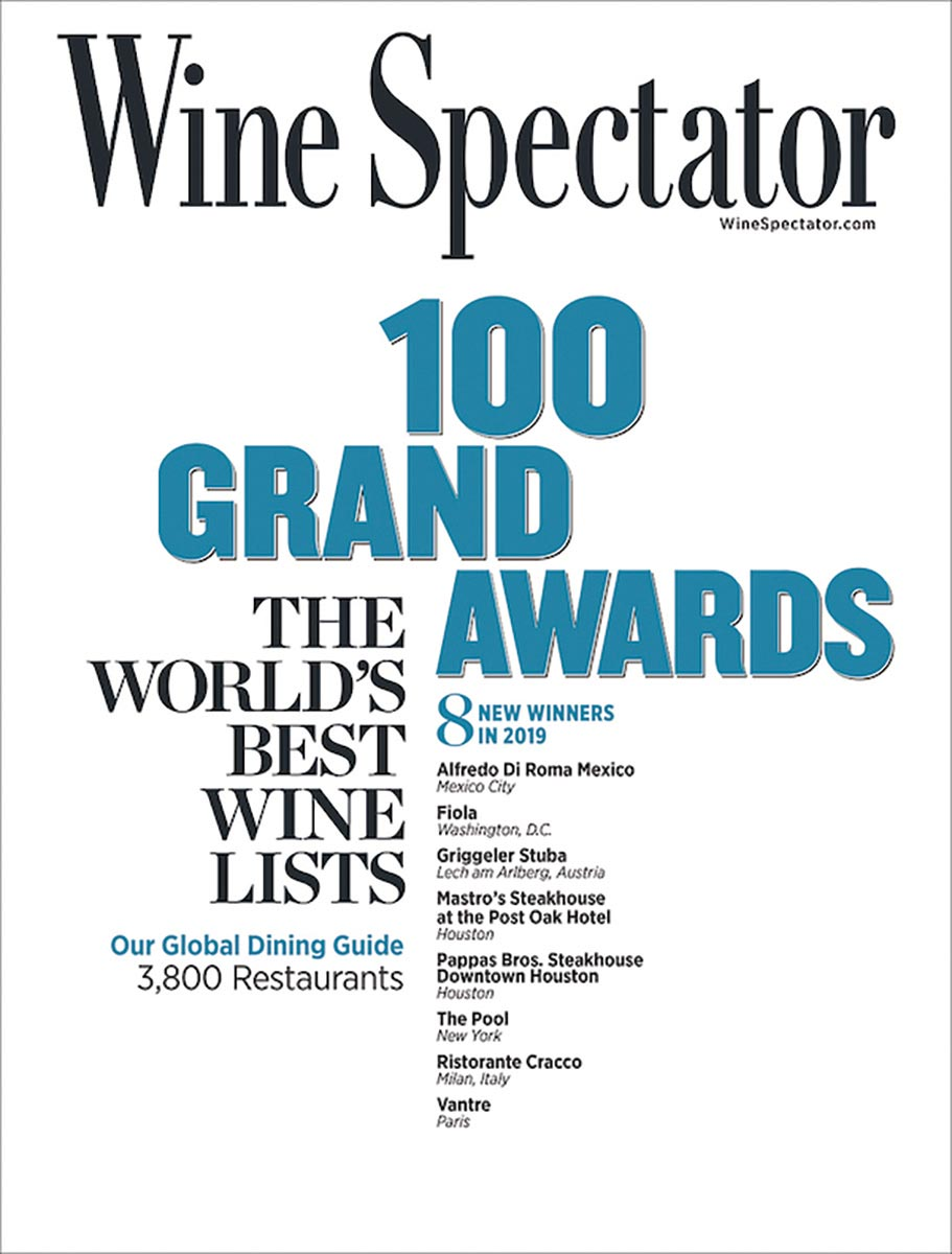 "Connecticut's ""Best Wine Restaurants"" Recognized"