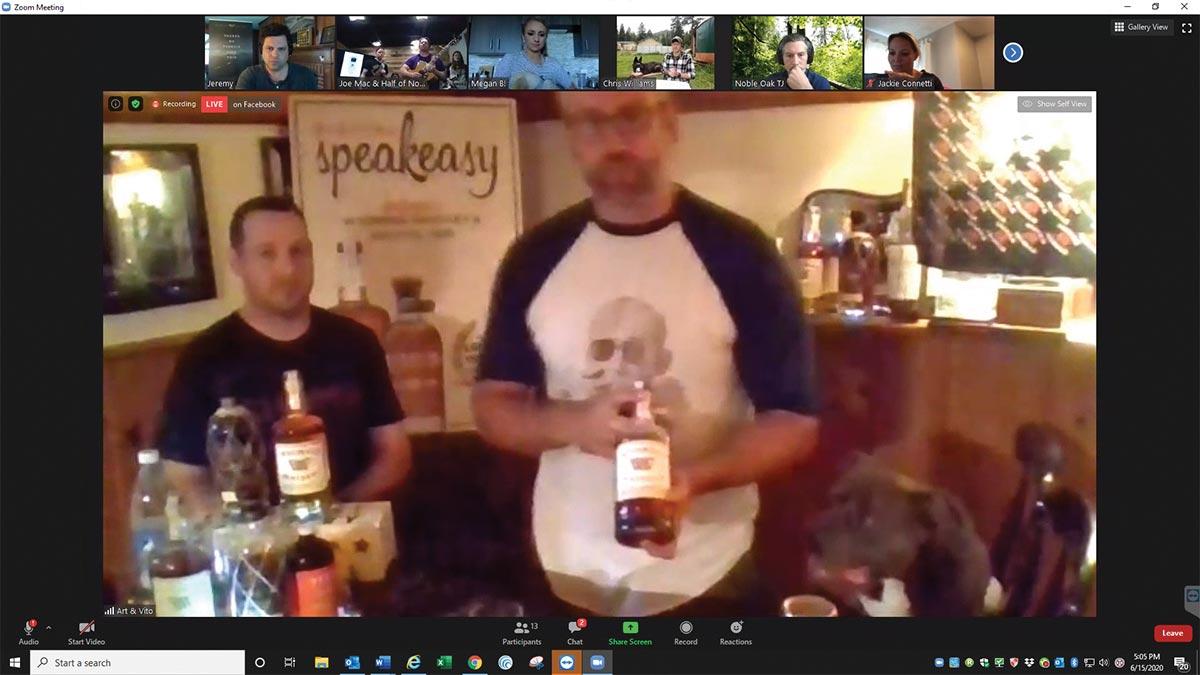 Local Bartenders Featured on Edrington's Digital Speakeasy