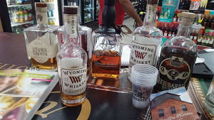 Wyoming Whiskey featured at Parkview Wine & Spirits in West Hartford on August 27.